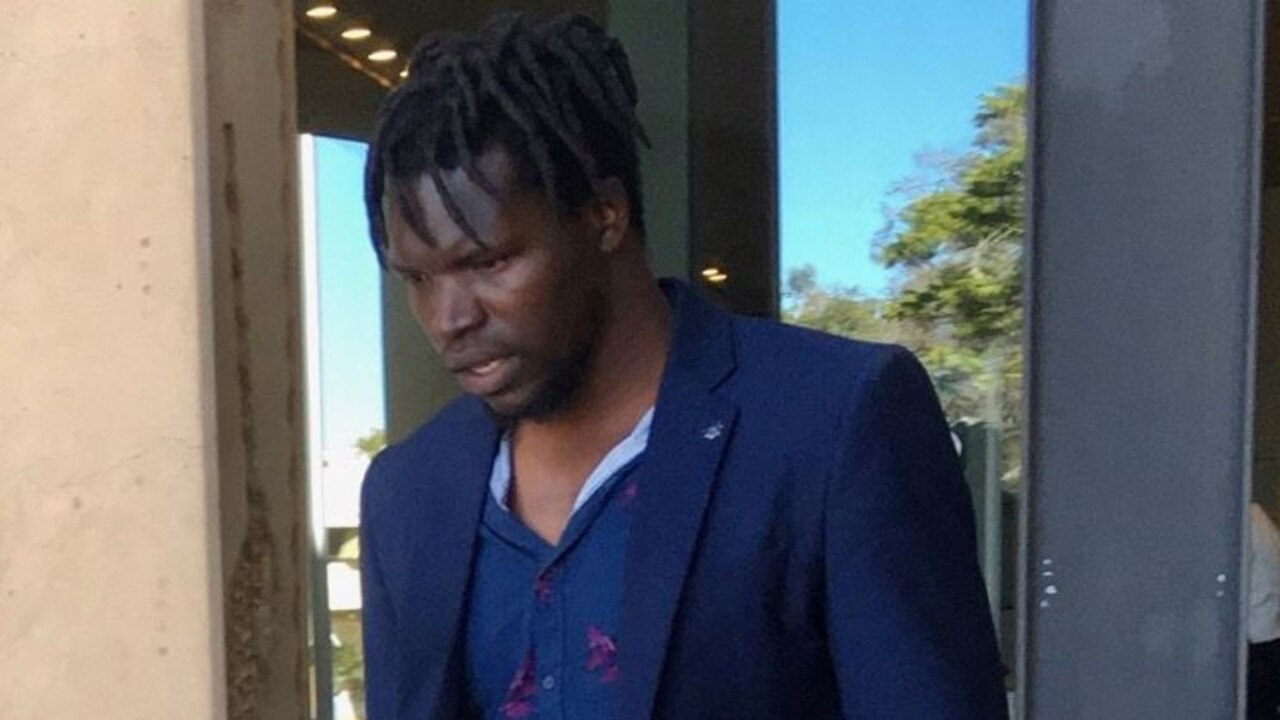 Yuga Daniel Wilberforce copped a big fine after being caught at a gathering that breached COVID-19 restrictions.