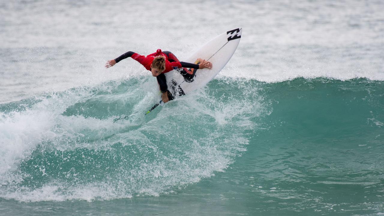 TOP SURFING: At the 2020 NSW Grommet State Titles in Sydney, Lennox Head athlete Ocea Curtis was runner-up in the U14 Girls at Maroubra Beach.Photo: Ethan Smith / Surfing NSW
