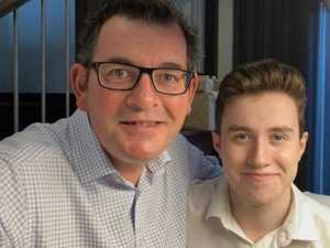 Dan Andrews' emotional post with son