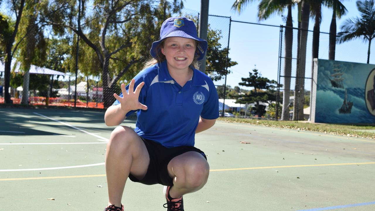 Bowen State School student Mia Martin, 11, has been selected to play in the North Queensland softball team. Photo: Elyse Wurm