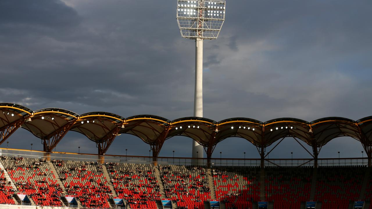 A Gold Coast woman is suing after she slipped at a Gold Coast Suns game in 2016. Picture: Chris Hyde/Getty Images