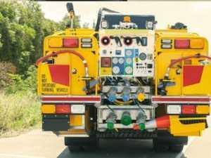 Fireys rush to Imbil truck fire