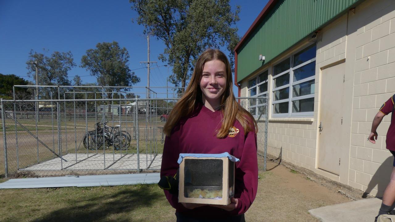 Year 9 student Arabella-Ann Davis, Nanango State High School. Holly Cormack.