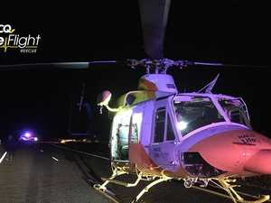 Teen flown to hospital after Miriam Vale crash