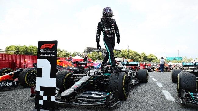 It's not Lewis Hamilton's fault he's so dominant.