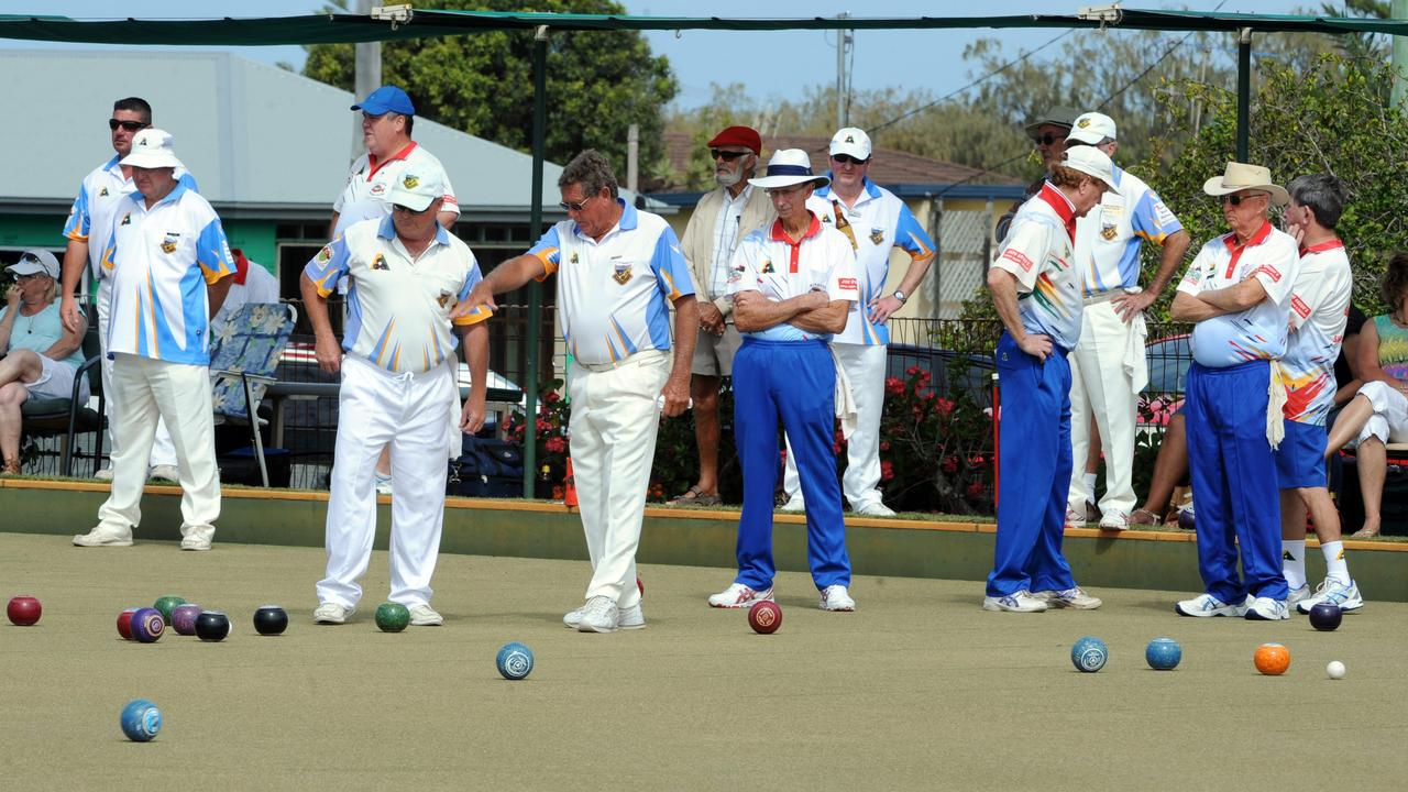 FLASHBACK: Across the Waves and Bargara competing in the division 1 pennants final at Elliott Heads Bowls Club IN 2015. Photo: Max Fleet