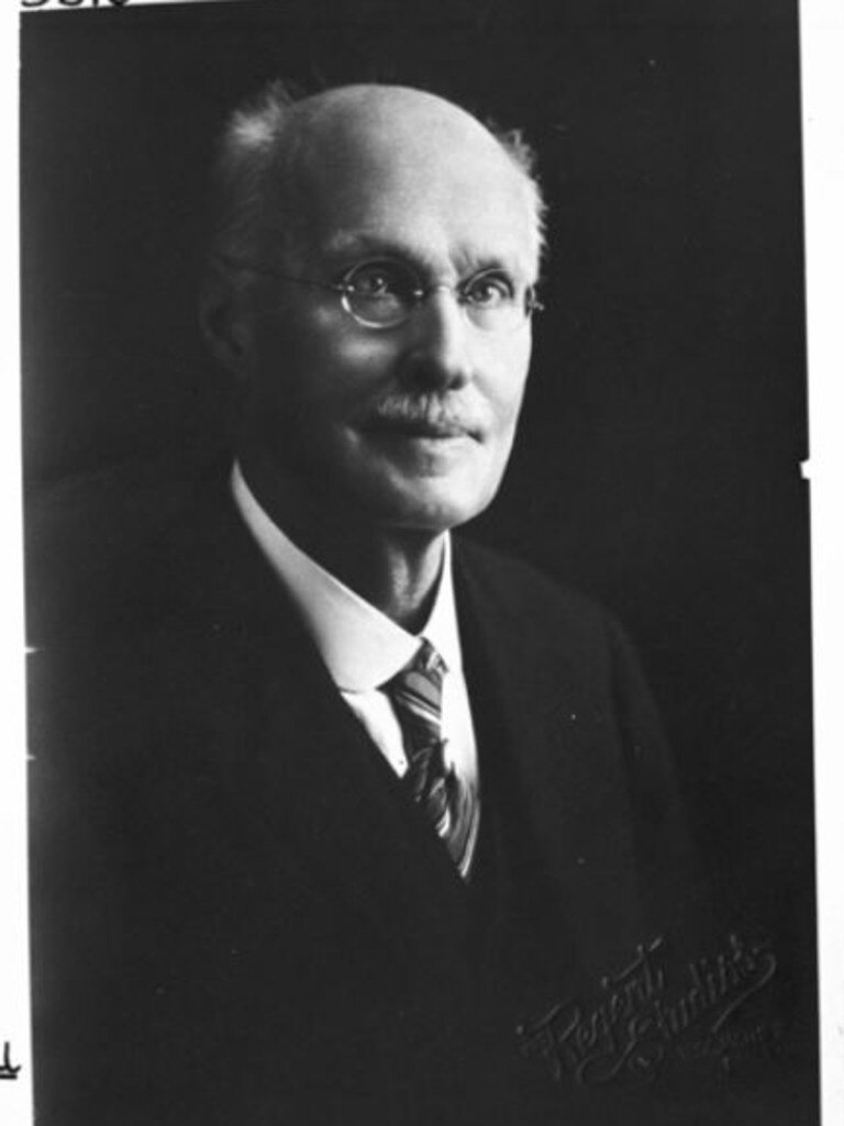 Mr Johannes Christian Brünnich, the leading agricultural chemist for the new Department of Agriculture. Picture: Queensland State Archives