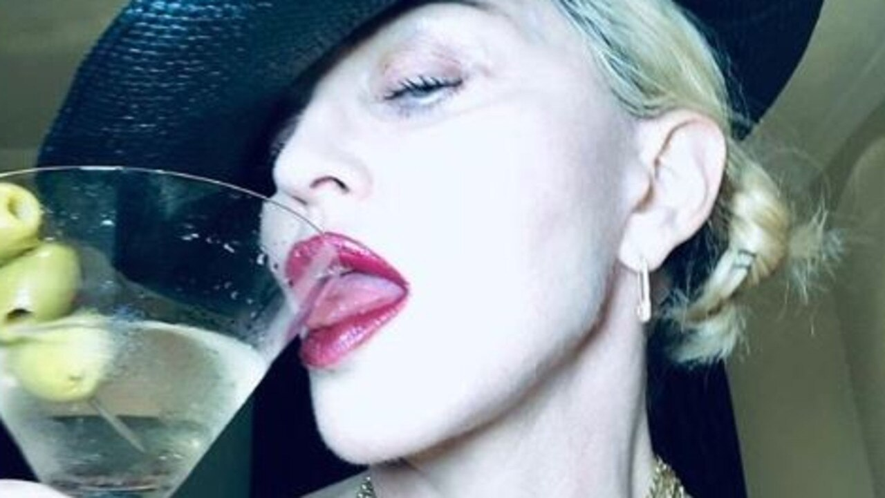 Madonna has ramped up her social media presence throughout the pandemic. Picture: Instagram.
