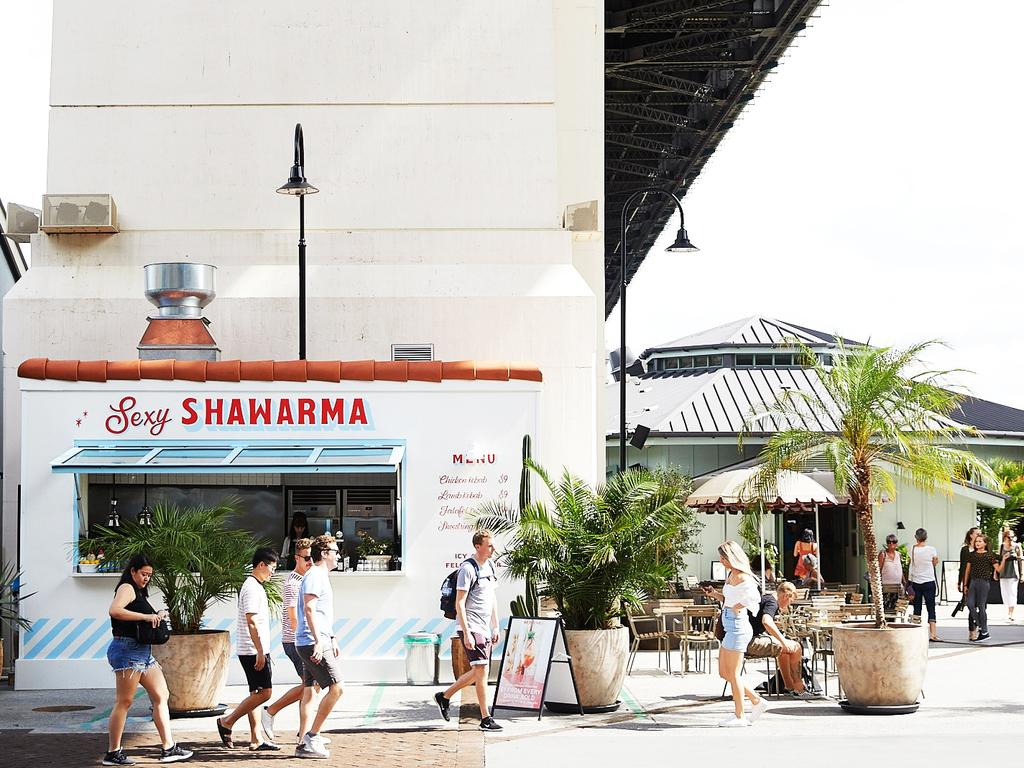 Pick up some food for the soul at Brisbane's Howard Smith Wharves.