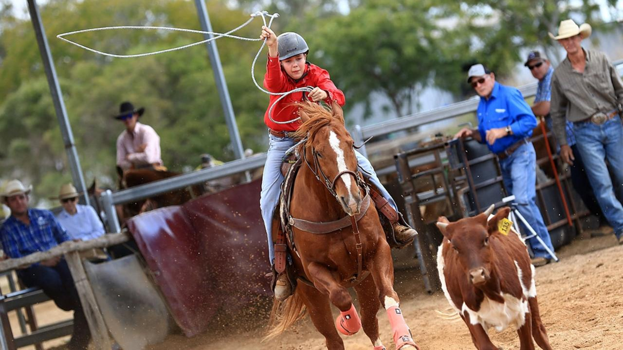 Rodeo Jackpot at Shane Kenny's property, Destiny Downs, on Saturday, August 15.