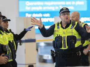 Queenslander leaves hotel quarantine 'to get food'