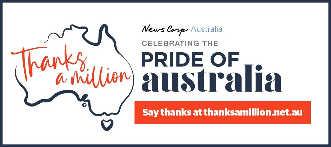 News Corp Australia's Thanks A Million campaign.