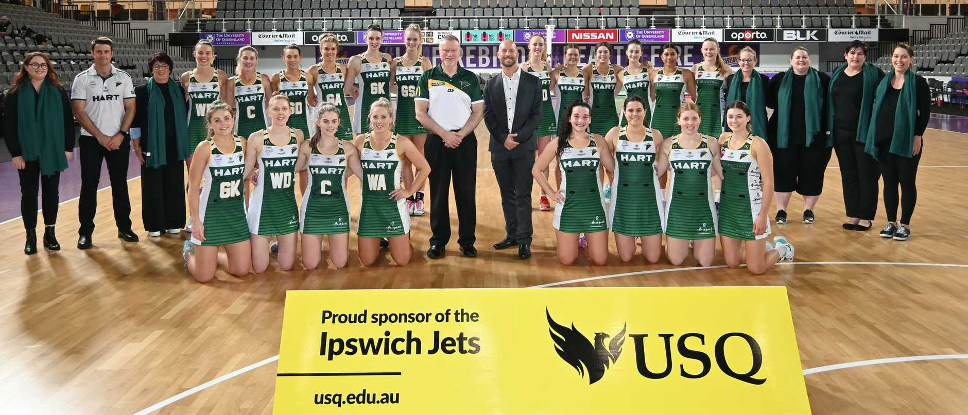 The 2020 Ipswich Jets Sapphires and Ruby series squads. Picture: Ipswich Jets Media