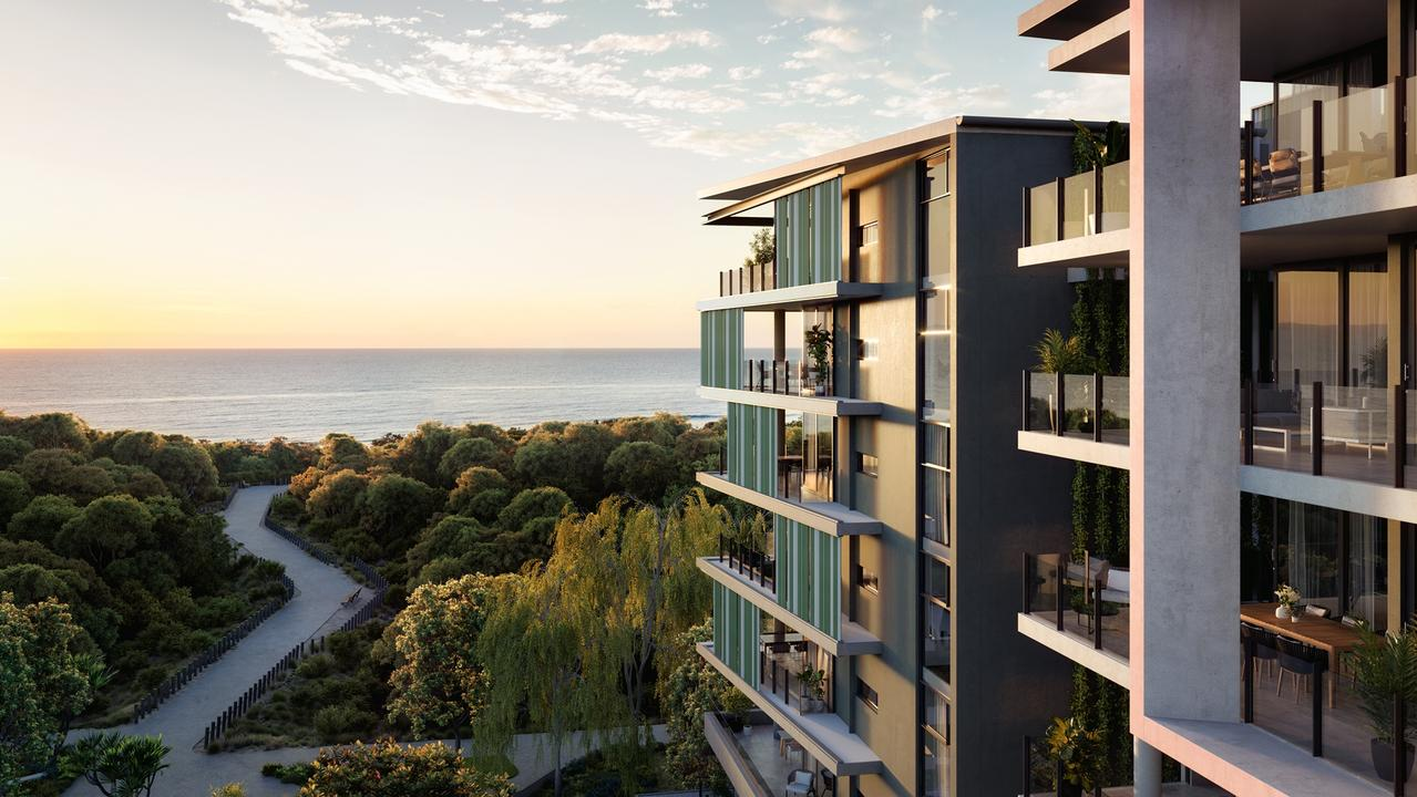 COMING SOON: The Seanna Residences by Clark Group will begin construction imminently, with Tomkins appointed for the build.