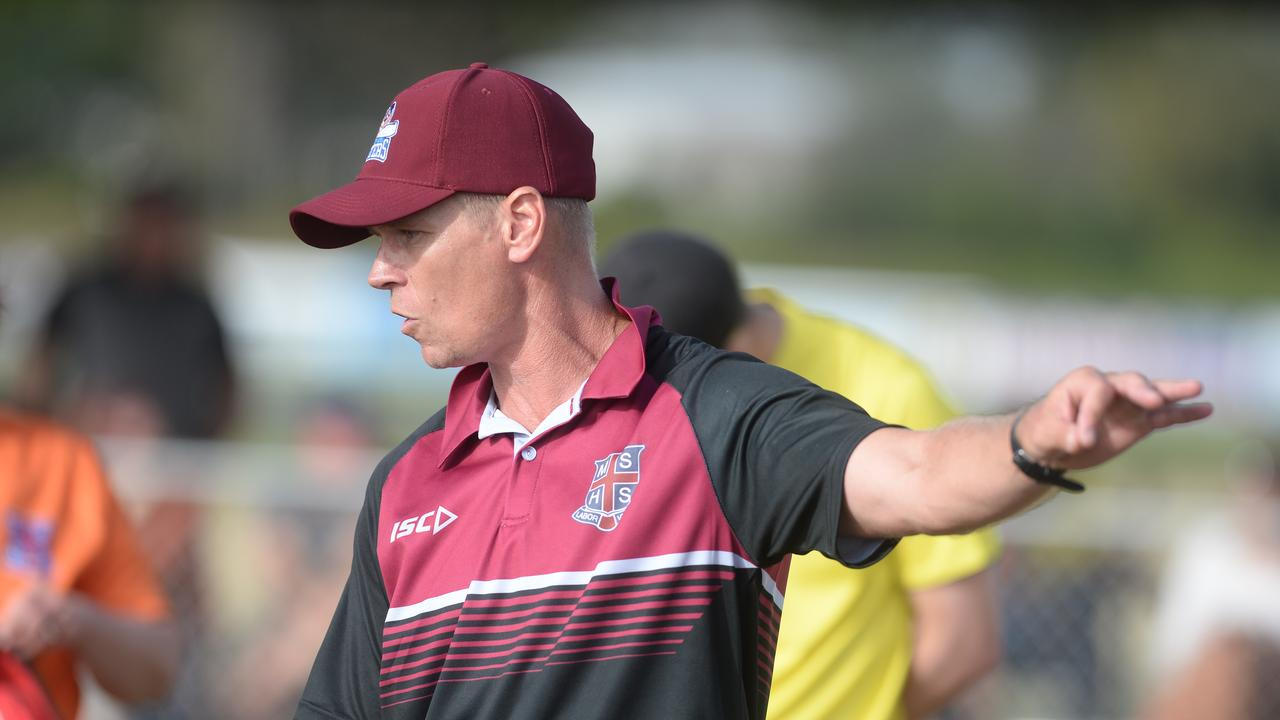 Mackay State High School coach Rowan Graham. Photo: Callum Dick