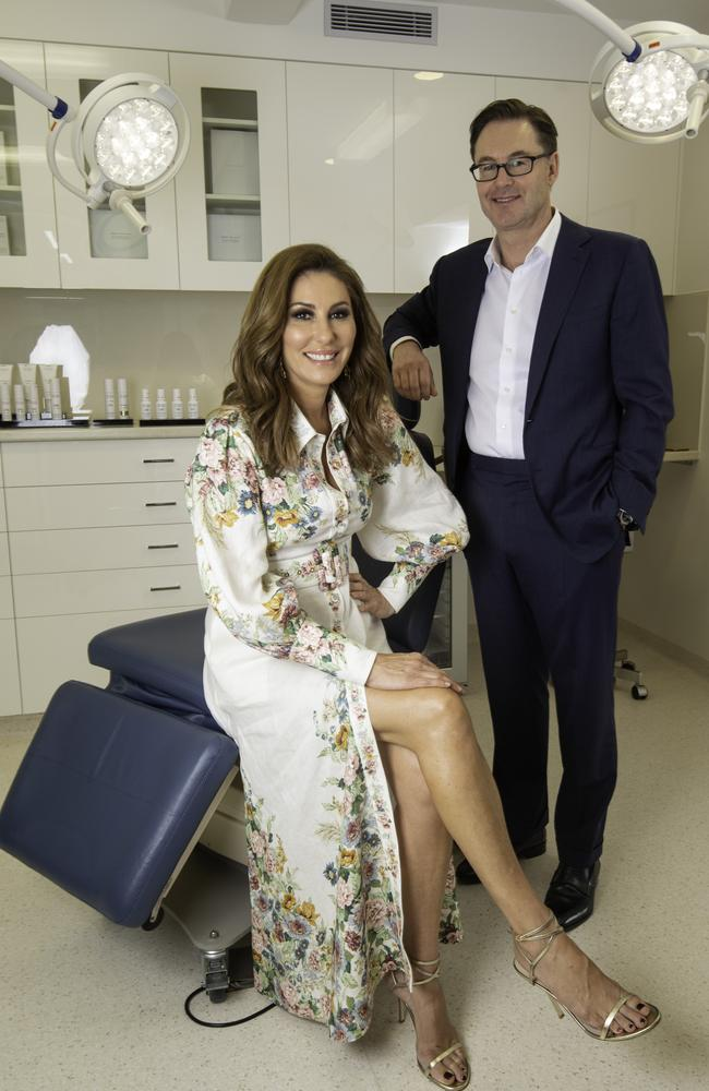 Andrea Moss and Dr Chris Moss at Liberty Belle in Melbourne's Toorak. Picture: News Corp Australia