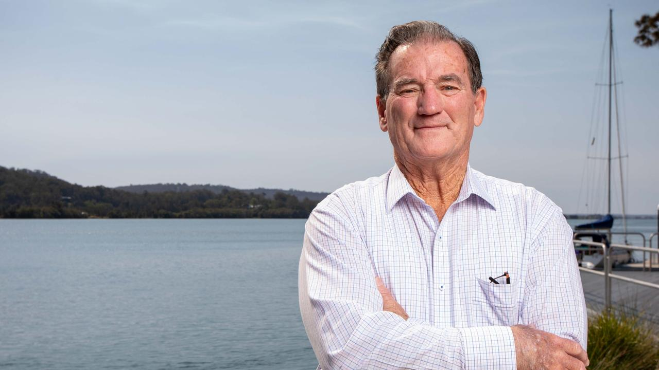 Clarence Valley council mayor Jim Simmons led a push to increase councillor pay. Pic: Lindsay Moller.