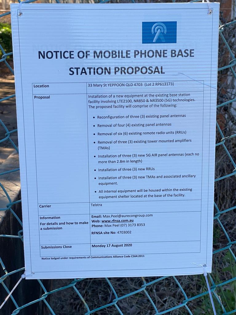 TOWER PROPOSAL: Public consultation for a 5G tower upgrade in Yeppoon ended on Friday.
