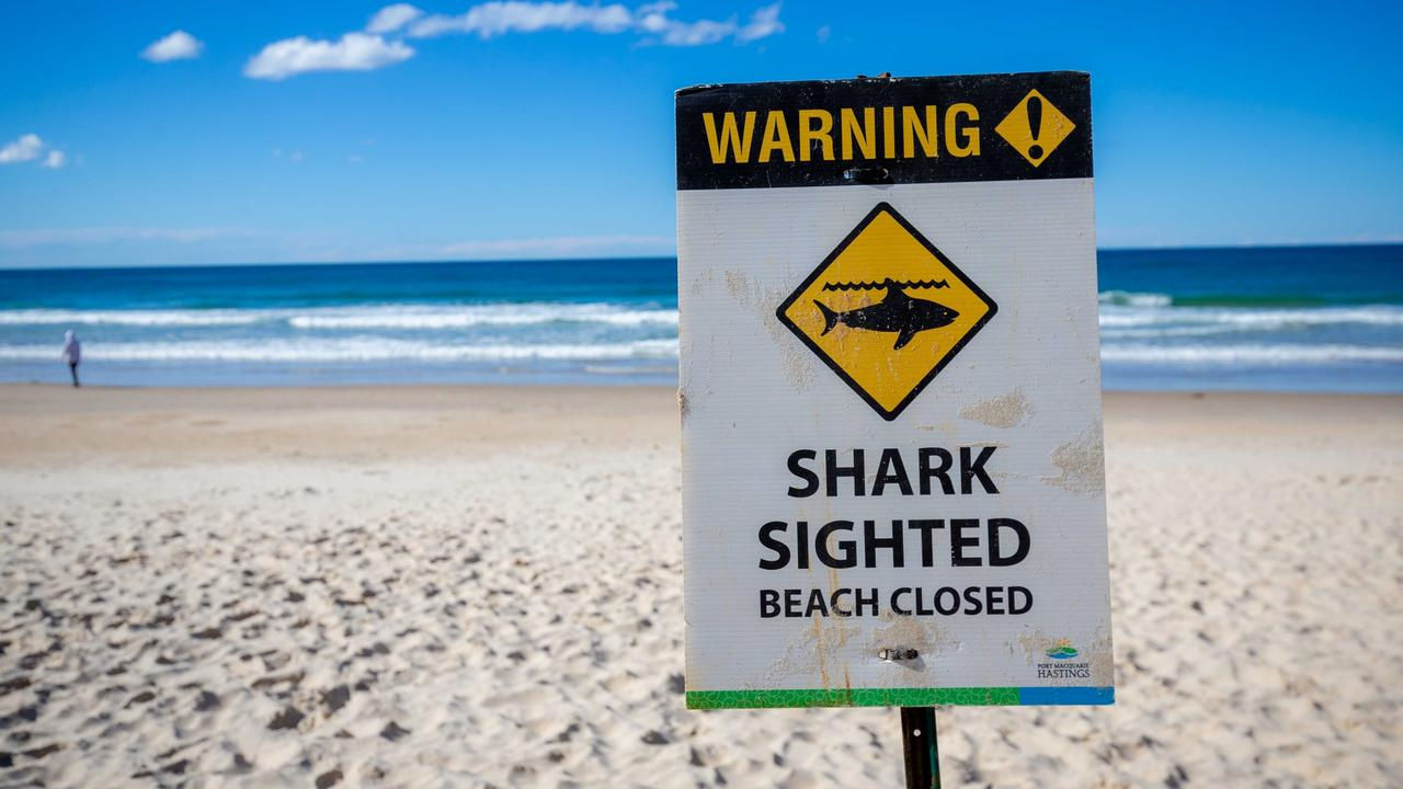 Beaches have been closed in Nambucca and Valla Beach. Pic: Lindsay Moller
