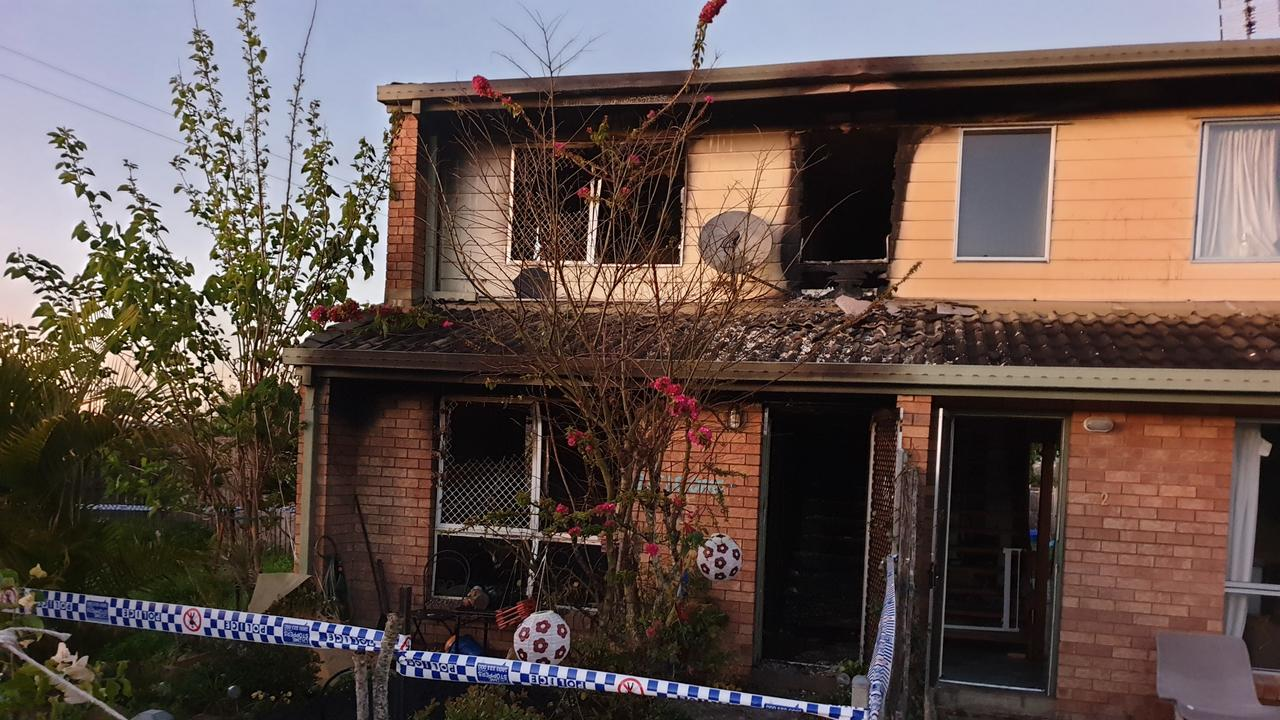 A Gympie unit was gutted by fire in the early hours of Tuesday morning.