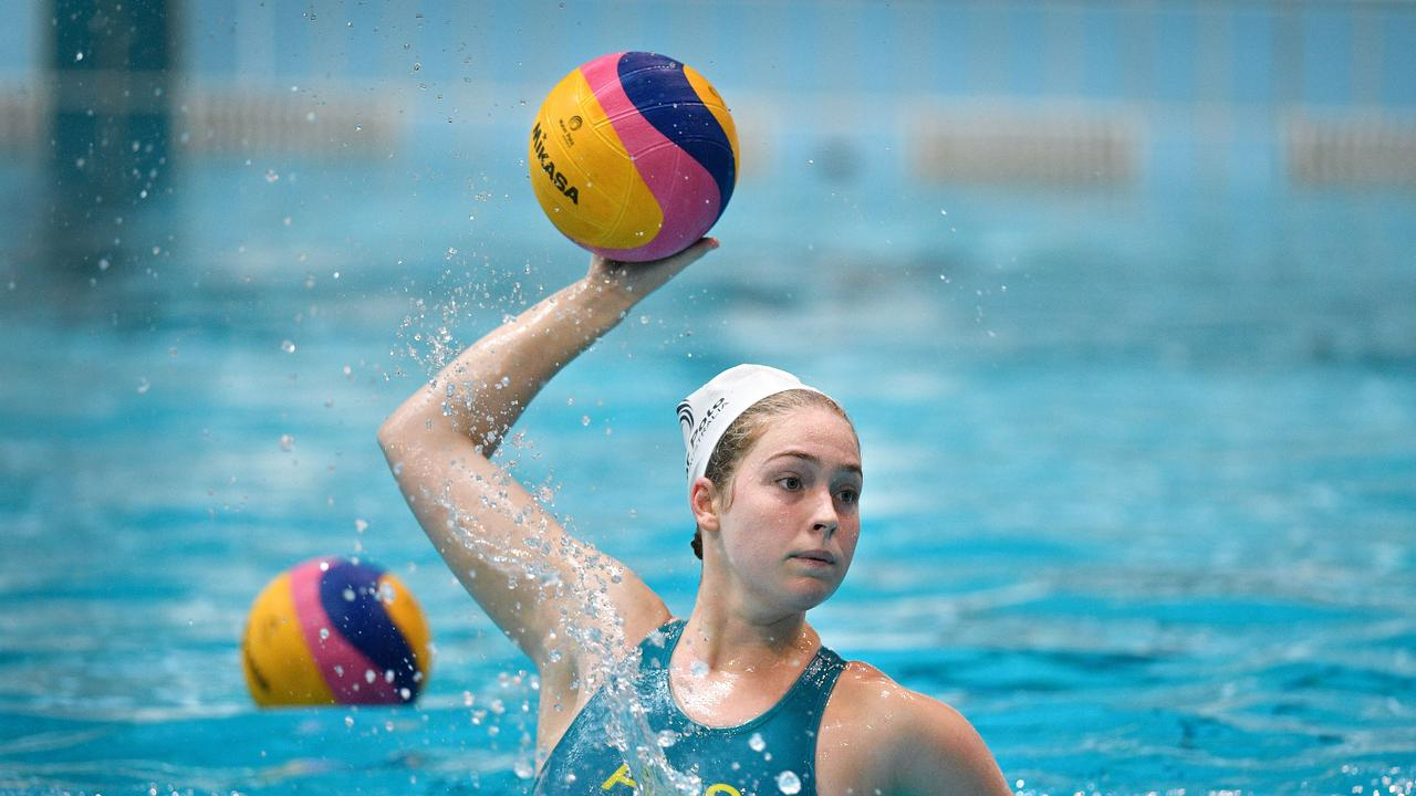 Alice Williams has been recalled to the Aussie Stingers waterpolo squad.. Picture:Gregg Porteous