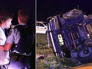 PHOTOS: Cops nab driver who fled crash scene