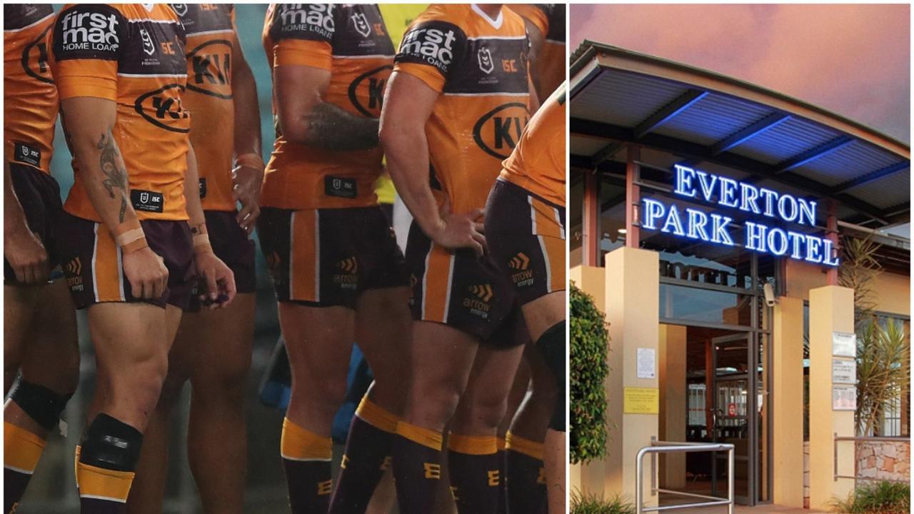 Brisbane Broncos COVID-19 Everton Park Hotel