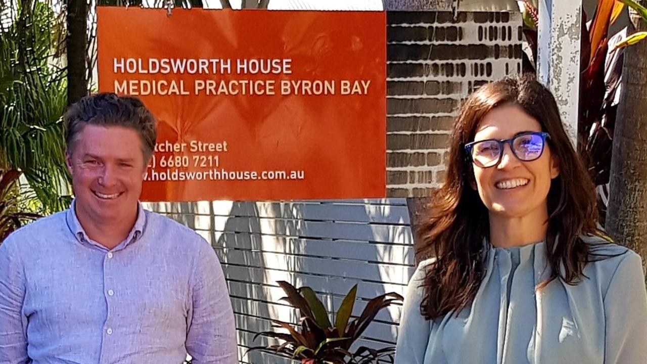 Dr Hugh McLeod of Holdsworth House and Dr Tonya Coren of Cape Byron Medical.