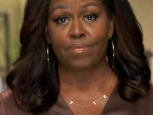 The message in Michelle Obama's necklace