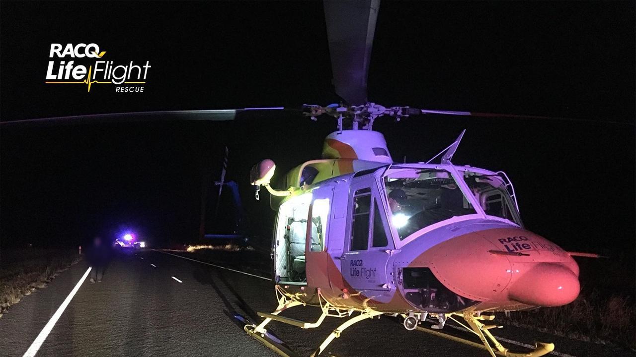 Courtesy RACQ LifeFlight Rescue