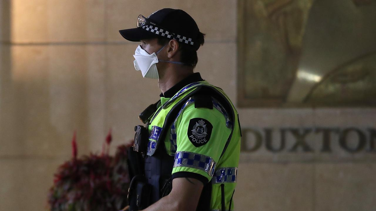 Two women are in police custody after reportedly escaping from hotel quarantine after arriving in Western Australia last night.