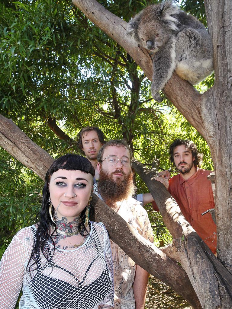 Hiatus Kaiyote. Picture: Ian Currie