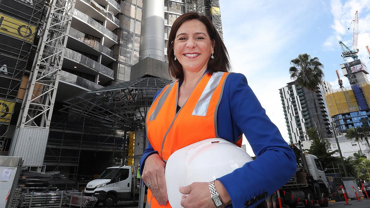 LNP Leader Deb Frecklington Pic Annette Dew