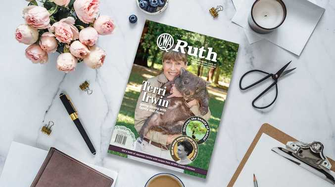 QCWA Ruth magazine chats to Terri Irwin