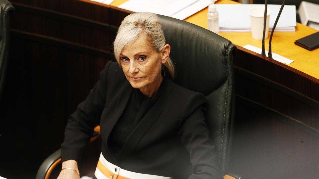 Attorney-General Elise Archer in State Parliament. Picture: Zak Simmonds