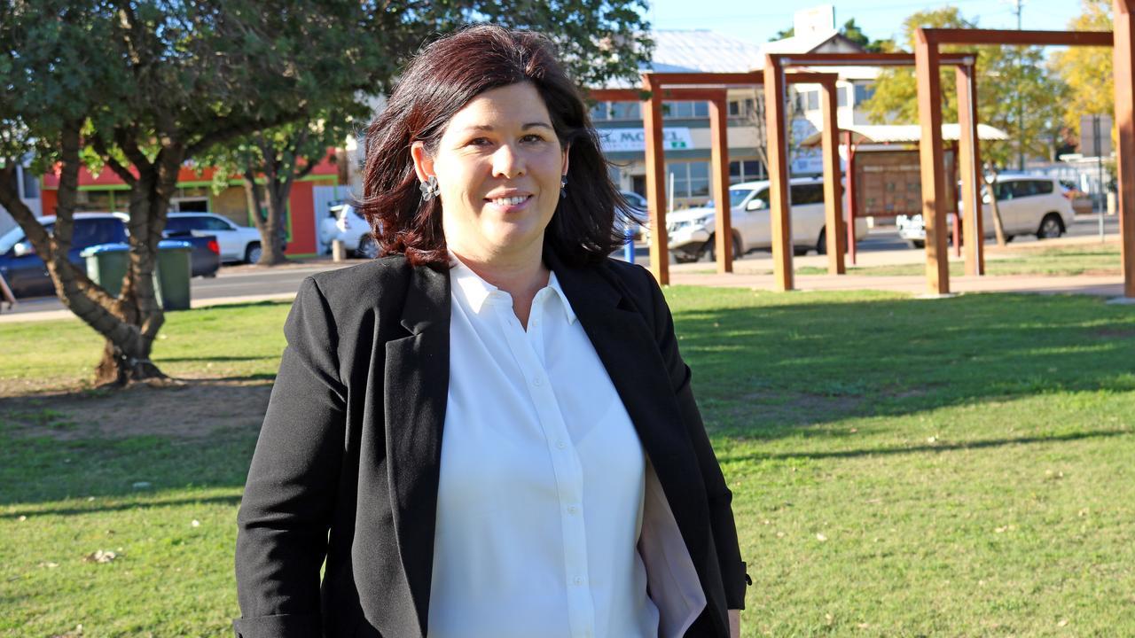 Balonne Shire Mayor Samantha O'Toole