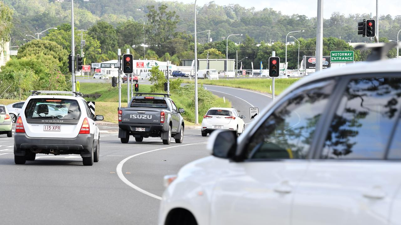 Mons Rd will be widened under the Bruce Highway as part of the works. Photo Patrick Woods / Sunshine Coast Daily.