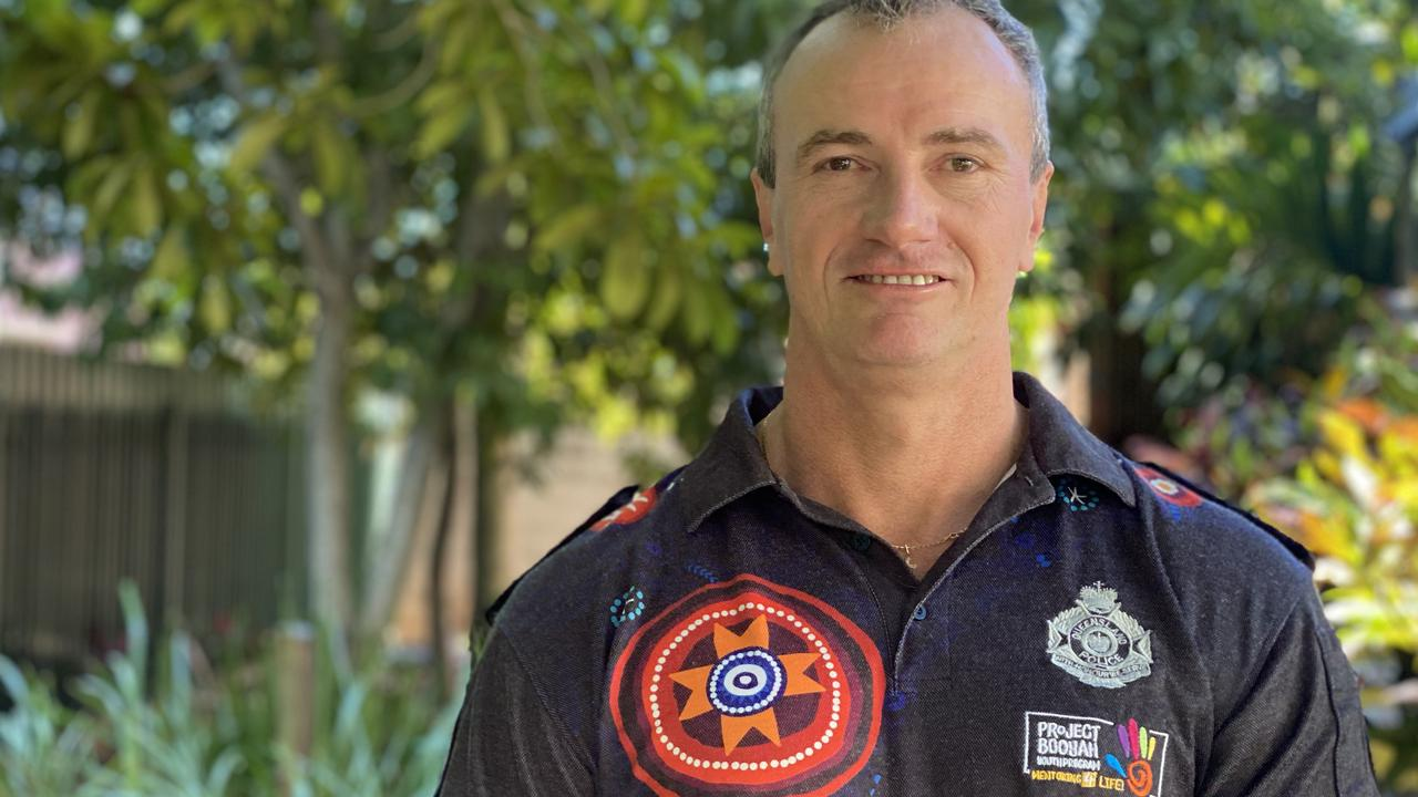 Project Booyah founder Detective Senior Sergeant Ian Frame said the award-winning training program aimed to pull at-risk youth away from criminal activity and provide them with opportunities to better their lives. Picture: Ashley Pillhofer.
