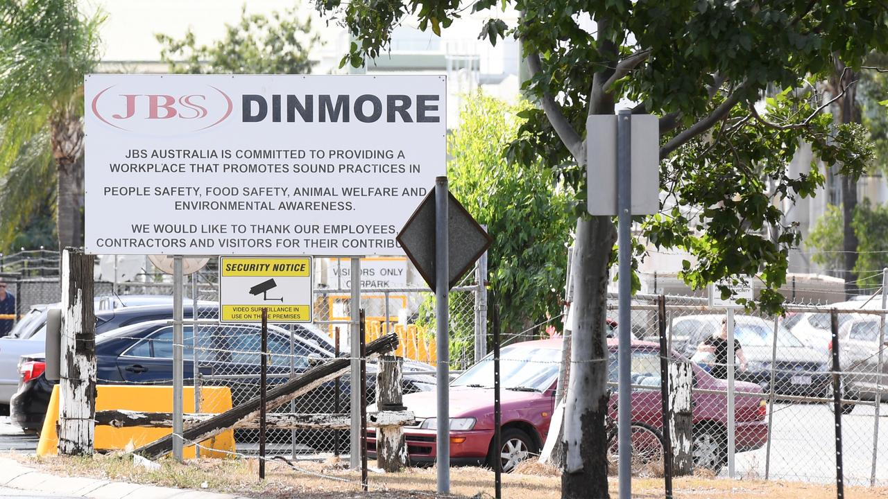 JBS Dinmore will close for two weeks from Monday.