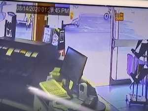 VIDEO: CCTV captures moment bike and car crash