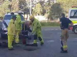 Shocking crash blocks traffic on Mary Valley Highway