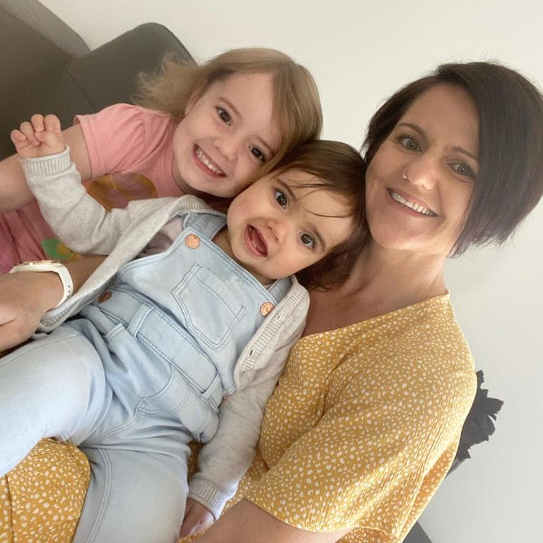 MUMMY HAVEN: Nicole Hay with her two youngest children, is passionate about empowering mums and allowing them to rediscover who they are.