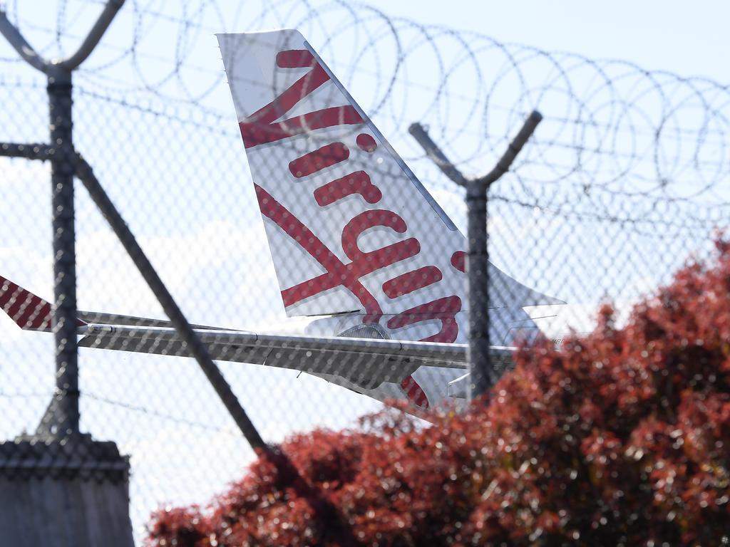There is a health alert for Virgin flight VA962. Photo by Albert Perez/Getty Images