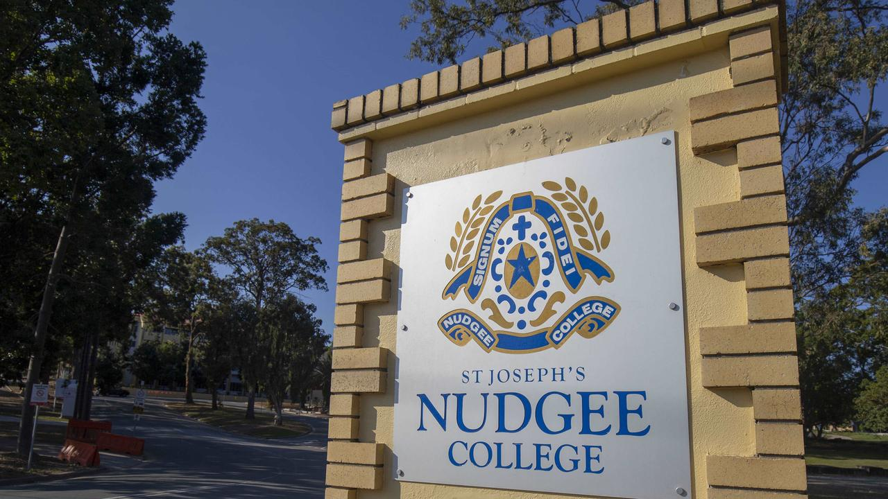 A St Joseph's Nudge College student has been left with facial injuries after a fight in a suburban park with students from another private school. Picture: Glenn Hunt