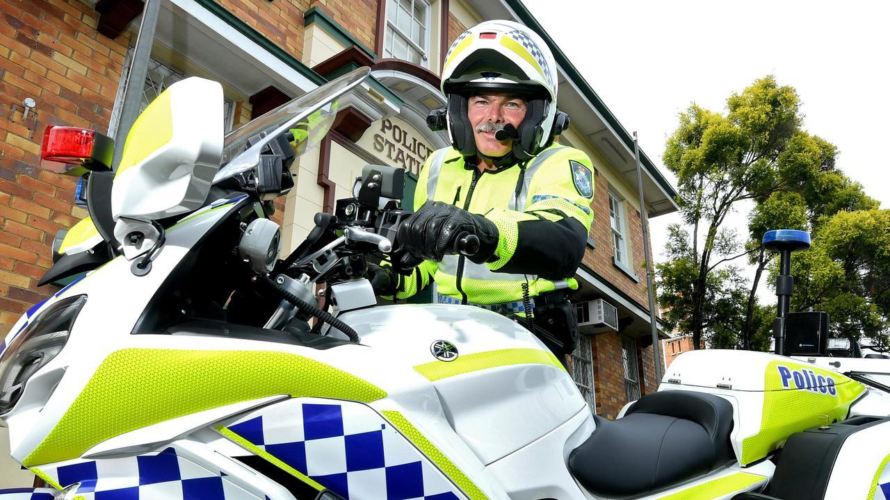 Gympie Police veteran Chris Watson.
