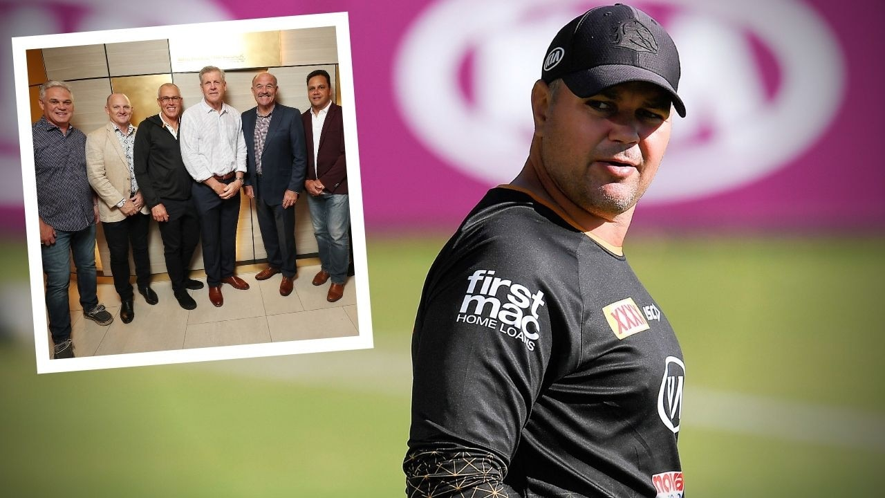 Former Broncos legend Chris Johns has hit back at claims the Broncos Old Boys have been attempting to sabotage Anthony Seibold's career at Red Hill.