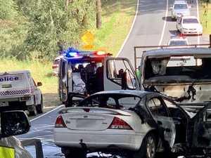 West Woombye crash