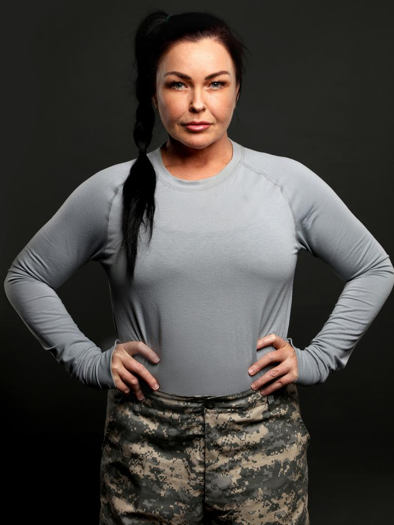 Schapelle Corby for SAS Australia. Picture Nigel Wright
