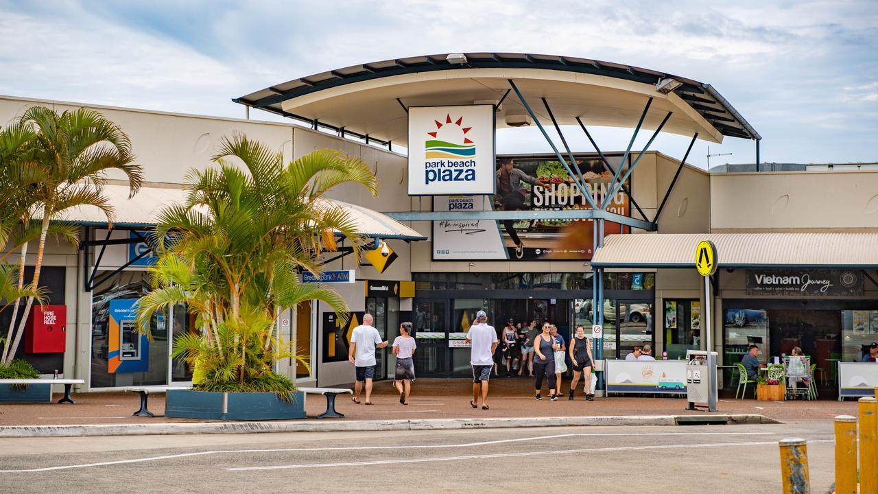 Park Beach Plaza.