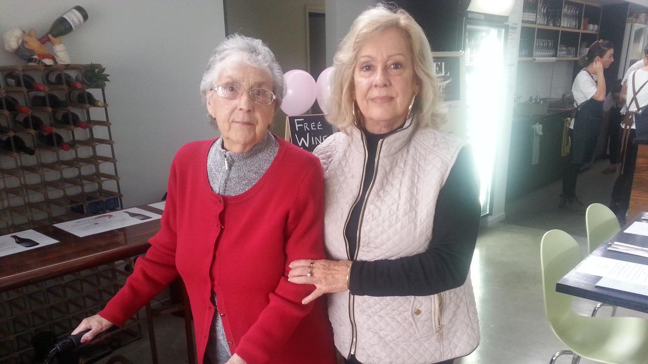 Monica Kloszynski with her mother Katharina Lica. Picture : Courtesy of Monika Kloszynski